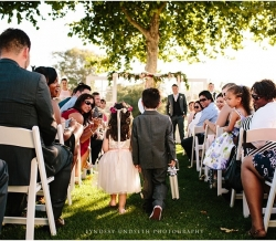 Eliza and Keean Simple Country Wedding Ring Bearer Flower Girl