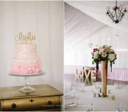 Eliza and Keean Simple Country Wedding Table LOVE