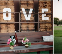 Eliza and Keean Simple Country Wedding Signs