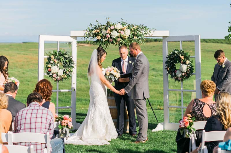 reverie gallery simple country wedding rentals ceremony