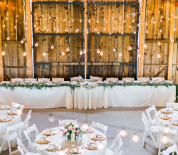 Reverie Gallery Simple Country Wedding Rentals Lighting