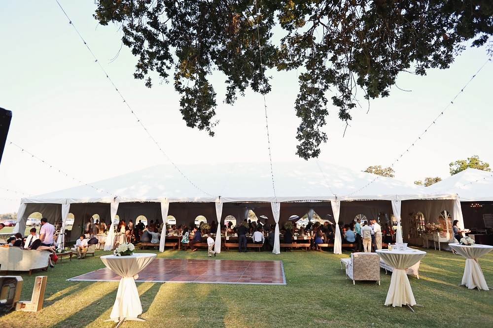 Tent Dance Floor