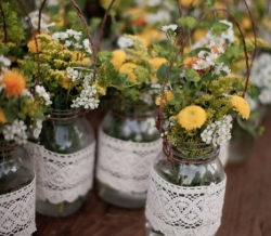 Mason Jars Country Chic
