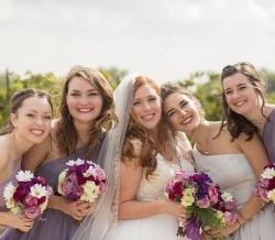 Melanie Ryan Wedding Bridal Party