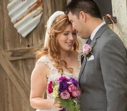Melanie Ryan Wedding Bride and Groom 2