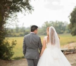 Melanie Ryan Wedding Bride and Groom 3
