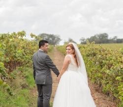 Melanie Ryan Wedding Bride and Groom 4