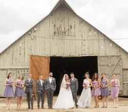 Melanie Ryan Wedding Party