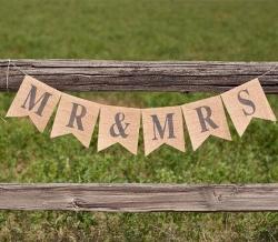 Mr & Mrs Table Banner