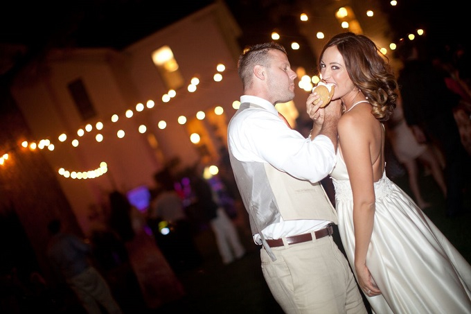 A quirky photo opportunity between you and your newly crowned spouse, is always a fun idea.  Using an element of your special day, like these ice-cream sandwiches, allows for your personality to shine through, and will be sure to be lasting memories in your photo album for years to come.