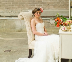 Styled Wedding Photo Shoot at Willow Ballroom