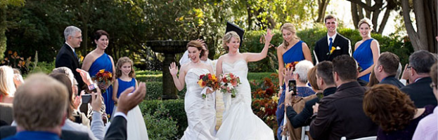 Sallie Grace and Ashley in Real Weddings Magazine